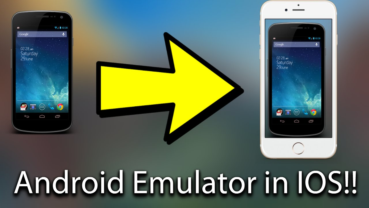download andriod emualtor for ios