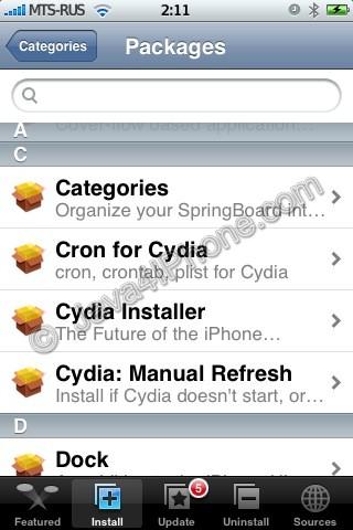 install cydia installer