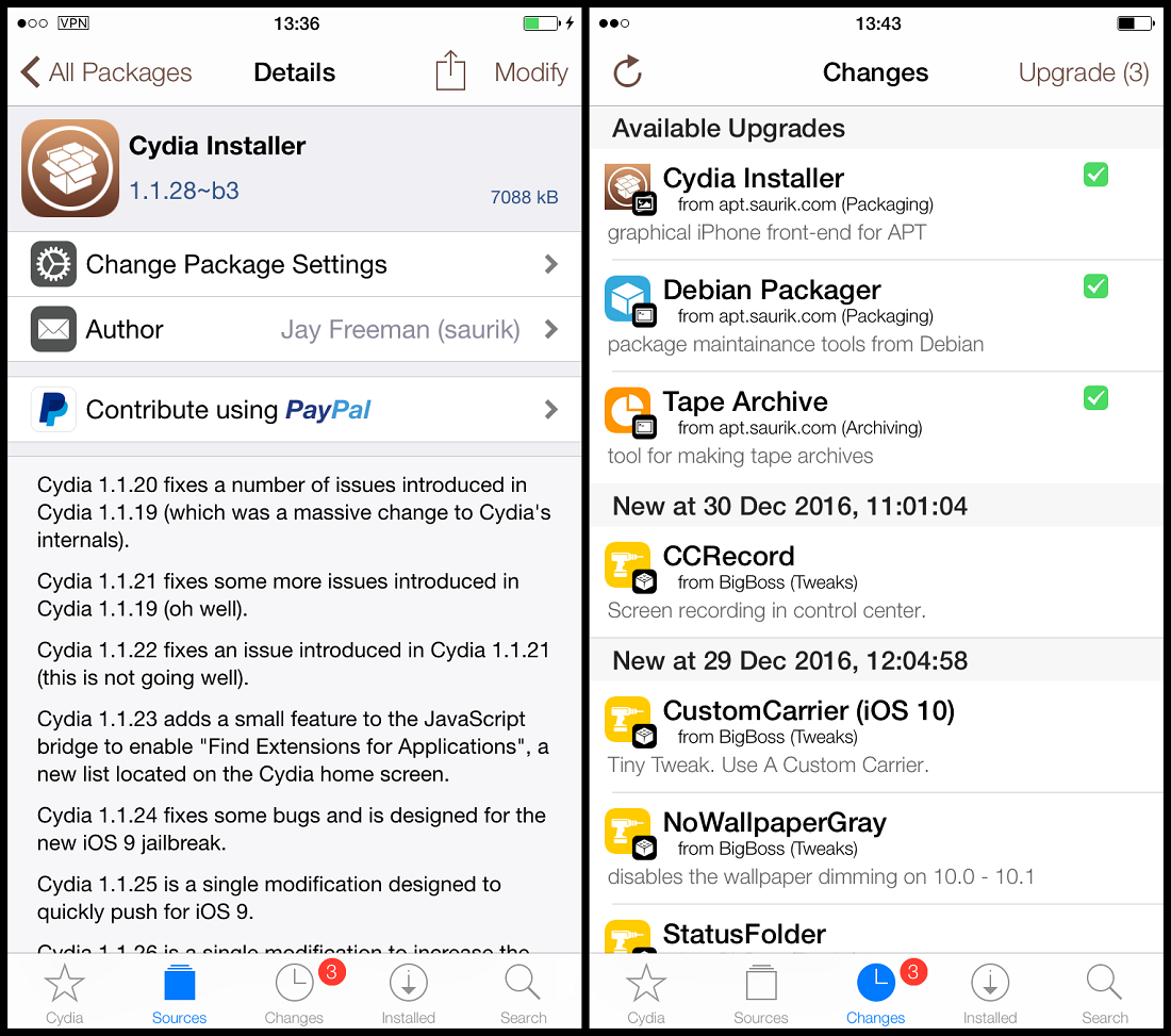 Cydia installer download