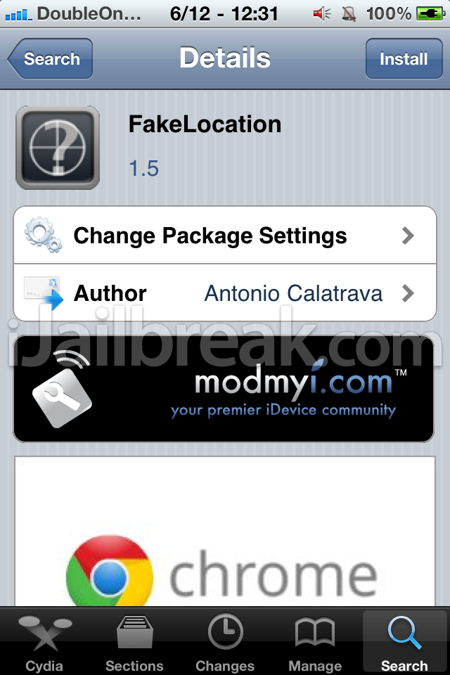 Fake Jailbreak app