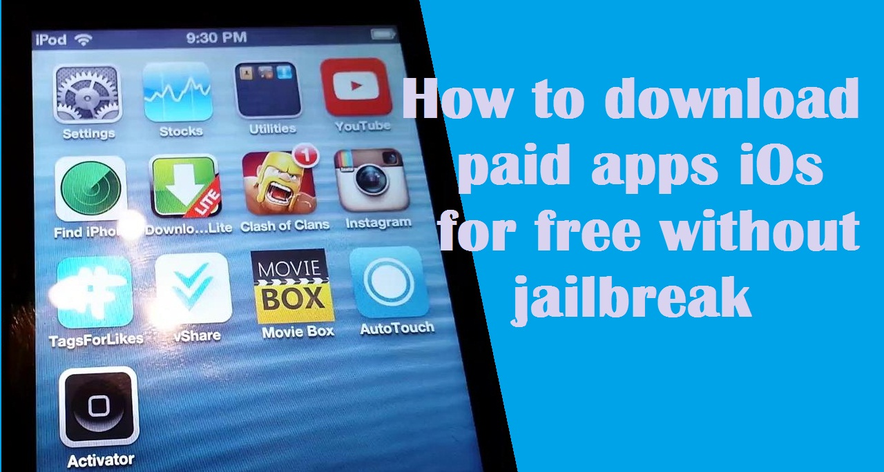 install apps4iphone without jailbreak