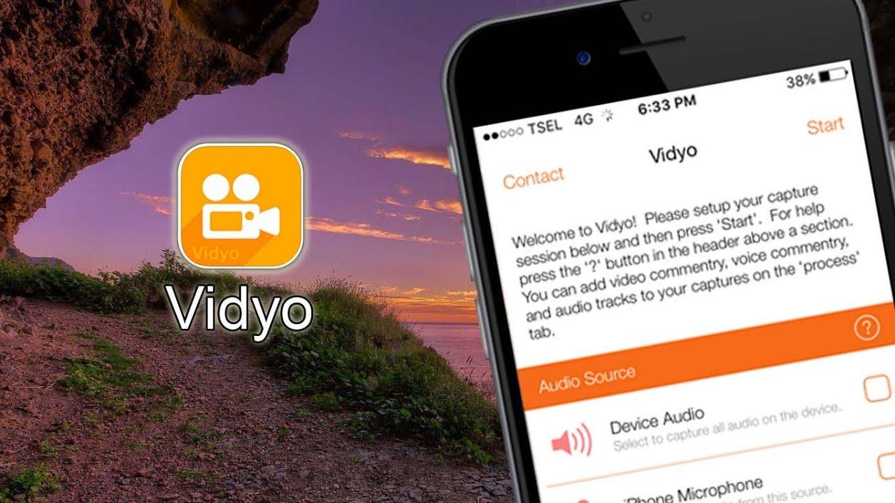 install vidyo screen recorder for ios