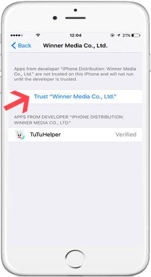 trust tutuapp profile
