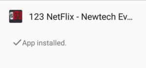 install 123 netflix app